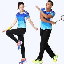 Badminton wear Women's Capri skirt suit, women's Capri skirt suit, women's trousers suit, men's trousers suit female S,M,L,XL,XXL,XXXL Odd and even numbers Football suit