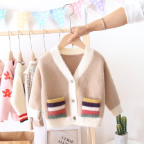 Sweater / sweater 80-5 (height: 65-80cm, weight: 20jin, 90-7 (height: 81-90, weight: 25jin), 100-9 (height: 91-100cm, weight: 30jin, 110-11 (height: 101-110, weight: 35jin, 120-13 (height: 115, weight: 40jin, height: 122-126) cotton neutral Other / other Britain No model Single breasted routine