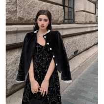Dress Spring 2021 S, M Mid length dress singleton  Sleeveless commute other High waist Solid color Socket other camisole 18-24 years old Type A Korean version 31% (inclusive) - 50% (inclusive)
