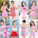 Children's swimsuit / pants Yi mi Size M (2-3 years old, 15-25 kg), size L (4-5 years old, 25-35 kg), size XL (6-7 years old, 35-45 kg), size 2XL (8-9 years old, 45-55 kg), size 3XL (10-12 years old, 55-65 kg), size 4XL (12-14 years old, 65-75 kg) Children's split swimsuit female polyester fiber