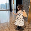 Dress Wave point female Other / other 80cm,90cm,100cm,110cm,120cm,130cm Other 100% summer lady Skirt / vest Dot cotton Straight skirt Class B 18 months, 2 years old, 3 years old, 4 years old, 5 years old, 6 years old Chinese Mainland Zhejiang Province Huzhou City