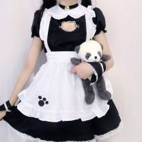 Cosplay women's wear suit goods in stock Over 14 years old Animation, original, film and television, games Yixiaoyi Japan Lovely, lovely, Maid Dress, Royal sister fan, otaku department, campus style, Lolita Cat maid Cat maid