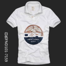 Polo shirt kasablanka Youth fashion routine S M L XL 2XL 3XL 4XL 5XL Self cultivation Other leisure summer Short sleeve FND101-W7140 tide youth Cotton 100% washing Summer of 2019 Pure e-commerce (online only)