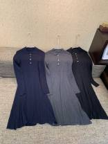 Dress Autumn 2020 Dark grey, black, navy S,M,L
