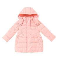 Down Jackets 120cm,130cm,140cm,150cm,160cm 80% White duck down Children, female Annil / anel P054 dream powder polyester have more cash than can be accounted for Detachable cap Zipper shirt Polyester 100% Polyester 100%