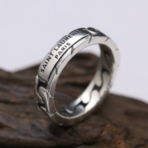 Ring / ring Silver ornaments 51-100 yuan Other / other brand new goods in stock Retro / court female Fresh out of the oven Not inlaid other 925 Silver