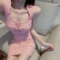 Dress Summer 2020 Pink Average size