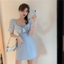 Dress Summer 2020 blue Average size 22101#