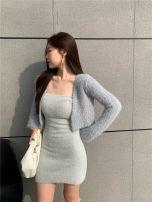 Fashion suit Winter 2020 Average size Grey bra, black bra, grey bra skirt, black bra skirt, grey overlay, black overlay