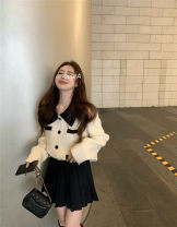 sweater Winter 2020 S. M, average size sweater , Pleated skirt 552 acrylic fibres 30% and below