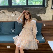 jacket Spring 2020 Average size Floral Dress A1862 Amy it girl 18-25 years old Other 100% Pure e-commerce (online only)