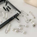 Brooch other RMB 1.00-9.99 Rovedcity / rodanski White Pearl Pin - 3-piece set of Pearl Pin - 3-piece set of white pearl button + pin + Pin - 6-Piece set of white pearl button + Pin - 6-Piece set of white pearl pin + Pin - 6-Piece set of white pearl pin + black and white pearl pin - 6-Piece set female