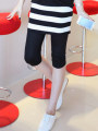 Maternity Pants / belly pants moderate happy Average size Cropped Trousers Abdominal support Pure cotton (95% and above)