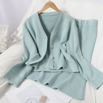 Fashion suit Autumn 2020 Average size Black, green 81% (inclusive) - 90% (inclusive)