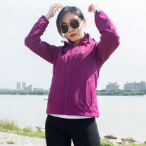 pizex lovers TECTOP nylon other 501-1000 yuan Navy - male black - male iron blue - male black - female rose red - female purple red - female Waterproof, windproof, breathable, wearable, warm, ultra light, waterproof and breathable Spring of 2019 China Joint full pressure adhesive nylon Urban outdoor