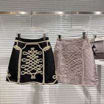 skirt Summer 2021 S,M,L Black, lavender Short skirt Natural waist other Type A 25-29 years old More than 95% other other