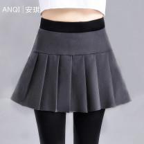 Leggings Summer 2020 Small (70kg-100kg), medium (100kg-120kg), large (120kg-140kg), extra large (140kg-160kg) Thin money trousers Angel women's wear pure cotton 91% (inclusive) - 95% (inclusive)