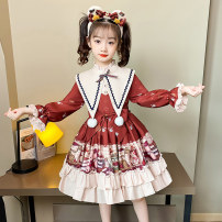 Dress Red plush red 5891 pink 5891 grey 5891 Pink Plush female Dinielephant / dinielephant 110cm 120cm 130cm 140cm 150cm 160cm Other 100% winter solar system Long sleeves Cartoon animation other A-line skirt A173-01 Class B Autumn 2013 Chinese Mainland Guangdong Province Shantou City