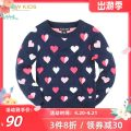 Sweater / sweater 110cm,120cm,130cm,140cm,150cm,155cm Acrylic blend female Navy Blue R.T.W college No model Socket routine Crew neck nothing Ordinary wool other Three, four, five, six, seven, eight, nine, ten, eleven, twelve