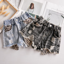 trousers Other / other female Black, light blue No season shorts Korean version No model Jeans Leather belt middle-waisted cotton Don't open the crotch Cotton 97% polyurethane elastic fiber (spandex) 3% Class B shorts 2, 3, 4, 5, 6, 7, 8, 9, 10, 11, 12, 13, 14 years old Chinese Mainland Wenzhou City