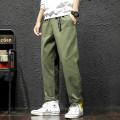 Casual pants Others Youth fashion Black, green, khaki M,L,XL,2XL,3XL,4XL,5XL trousers motion easy N3-7-K563 tide