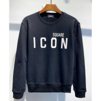Sweater Youth fashion Piplan Black, red 170(M),175(L),180(XL),185(XXL),190(3XL) originality Socket routine Crew neck autumn Straight cylinder leisure time youth tide routine DS375 Fleece  cotton printing More than 95%