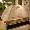 Mosquito net Fengyan green pudding powder Medoga 3 doors Yurt style 1.0m (3.3ft) bed 1.2m (4ft) bed others student iron M school Installation free