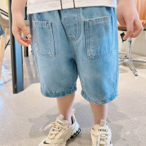 trousers Other / other neutral 90cm,100cm,110cm,120cm,130cm 18C denim shorts 3631 blue summer Pant leisure time There are models in the real shooting Casual pants Leather belt middle-waisted cotton Don't open the crotch Cotton 90% other 10% shorts shorts Chinese Mainland