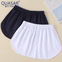 skirt Autumn 2020 One size fits all XL XXL White black Middle-skirt Natural waist XB-009 quasar