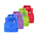 Vest neutral Other / other spring and autumn thickening No model zipper Fleece Solid color Polyester 100% Class B other