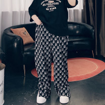 Women's large Spring 2021 black Large XL, large XXL, large XXL, large 4XL trousers singleton  commute easy moderate Conjoined other Korean version other Three dimensional cutting 25-29 years old pocket 51% (inclusive) - 70% (inclusive) trousers