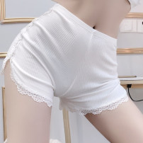 Leggings Spring 2020 White, black Average size Thin money shorts Three point one 18-24 years old Other / other