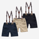 trousers Funny bear male 90cm,100cm,110cm,120cm,130cm,140cm,150cm,160cm Khaki, Navy, black summer shorts leisure time There are models in the real shooting rompers Leather belt middle-waisted cotton Don't open the crotch Cotton 97% polyurethane elastic fiber (spandex) 3% DTX17B8012 Class A