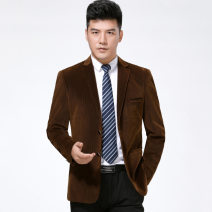 man 's suit As shown in the figure Oana  Youth fashion thick 180/52,185/54,175/50,165/46,190/56,170/48 3/35--819 Extra wide A double breasted button Other leisure Double slit Long sleeves routine Solid color