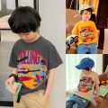 T-shirt Apricot, smoky grey, orange, smoky grey 1, Orange 1, apricot 1 Zhen Youfan male summer Short sleeve Crew neck leisure time There are models in the real shooting nothing cotton other Cotton 95% polyurethane elastic fiber (spandex) 5% Class B other Chinese Mainland Zhejiang Province