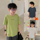 T-shirt Navy, Avocado Green, base white, Navy 1, Avocado Green 1, base white 1 Zhen Youfan male summer Short sleeve Crew neck leisure time There are models in the real shooting nothing cotton other Cotton 100% Class B other Four, five, six, seven, eight, nine, ten, eleven, twelve Chinese Mainland