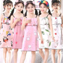 Home skirt / Nightgown Other / other Size 8 (recommended height 90-100cm), size 10 (recommended height 100-110cm), size 12 (recommended height 110-120cm), size 14 (recommended height 120-130cm), size 16 (recommended height 130-140cm), size 18 (recommended height 140-150cm) Polyester 100% summer