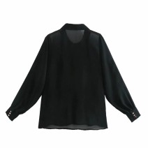 shirt As shown in the figure XS,S,M,L Spring 2021 other 81% (inclusive) - 90% (inclusive) Long sleeves street Regular 18-24 years old Straight cylinder Europe and America