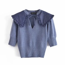 Wool knitwear Spring 2021 S,M,L As shown in the figure singleton  Socket other 81% (inclusive) - 90% (inclusive) routine street Straight cylinder 18-24 years old Europe and America