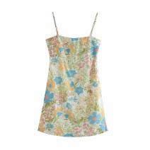 Dress Autumn 2020 As shown in the figure S,M,L Short skirt singleton  street camisole 18-24 years old Europe and America