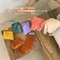 Children's socks (0-16 years old) Medium socks Caramel, cheese apricot, khaki, cream orange, Moran green, taro purple S (1-3 years old), m (3-5 years old), l (6-8 years old) Other / other No season