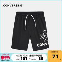 trousers Converse / converse male 105cm 110cm 120cm 130cm 140cm 150cm 160cm Black college Red Navy Blue Cotton 100% CV2022012PS-002 CV2022012PS-002 Summer 2021