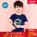 T-shirt 361° 130cm 140cm 150cm 160cm 170cm male summer Crew neck leisure time There are models in the real shooting nothing other other Cotton 60% polyester 40% Class B Chinese Mainland