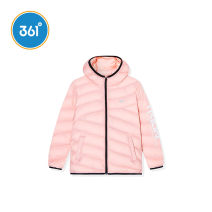 Cotton padded jacket female No detachable cap other 361° 130cm 140cm 150cm 160cm 165cm routine Zipper shirt leisure time Solid color other Class C High collar Polyamide fiber (nylon) 100% Winter of 2019 winter Chinese Mainland
