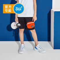 trousers 361° male 130cm 140cm 150cm 160cm 170cm Classic black / Classic Black / tomato red light tile grey / classic black orange light grey light green summer Pant leisure time Sports pants Tether middle-waisted cotton Don't open the crotch Cotton 67% polyester 33% N52021502-x other N52021502