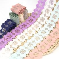 lace 1 ﹥ purple [1m] 2 ﹥ light green [1m] 3 ﹥ light sky blue [1m] 4 ﹥ light yellow [1m] 5 ﹥ coffee [1m] 6 ﹥ white [1m] 7 ﹥ meat powder [1m] 8 ﹥ pink [1m] 9 ﹥ Navy [1m] 9 ﹥ note color Liang Yu LZ018