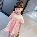 Dress Orange, pink female Other / other Cotton 95% polyurethane elastic fiber (spandex) 5% summer Korean version Short sleeve Dot cotton Lotus leaf edge MXMYX25 Class A 3 months, 12 months, 6 months, 9 months, 18 months, 2 years old, 3 years old, 4 years old, 5 years old, 6 years old Chinese Mainland
