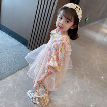Dress Floral  female Other / other 80cm tag 80 is suitable for 0-1 years old, 90cm tag 90 is suitable for 1-2 years old, 100cm tag 100 is suitable for 2-3 years old, 110cm tag 110 is suitable for 3-4 years old, 120cm tag 120 is suitable for 4-5 years old, 130cm tag 130 is suitable for 5-6 years old