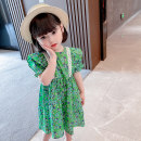 Dress green female Other / other 80cm tag 80 is suitable for 0-1 years old, 90cm tag 90 is suitable for 1-2 years old, 100cm tag 100 is suitable for 2-3 years old, 110cm tag 110 is suitable for 3-4 years old, 120cm tag 120 is suitable for 4-5 years old, 130cm tag 130 is suitable for 5-6 years old