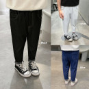 trousers Chen Chen's mother male 80, 90, 100, 110, 120, 130, 140 Black, dark blue, white, the fourth batch of black will arrive on April 5, the fourth batch of dark blue will arrive on April 5, and the fourth batch of white will arrive on April 5 spring trousers leisure time Casual pants Leather belt